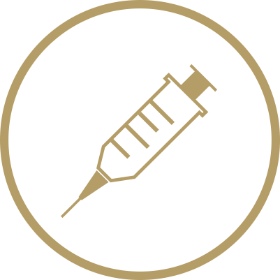 Vaccinations injections symbol