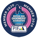 British dog groomers association PIF